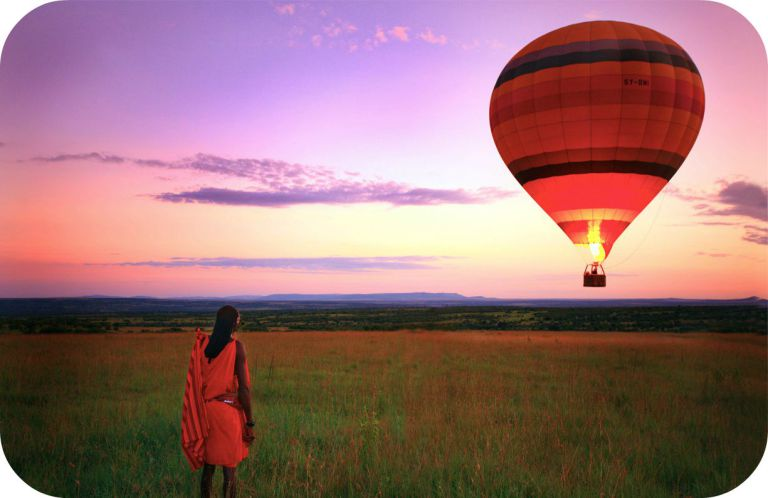 Hot Air Balloon ride in Masai Mara